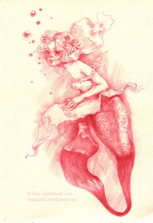 Red Mermaid
